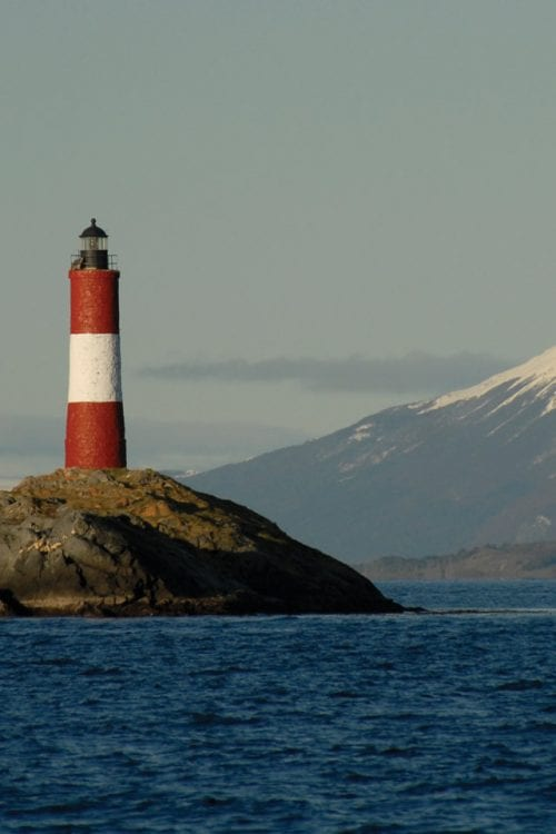 Patagonia Argentina Ushuaia End of the world lighthouse Contours Travel
