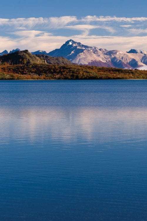 Patagonia South America Argentina Fly fishing Contours Travel