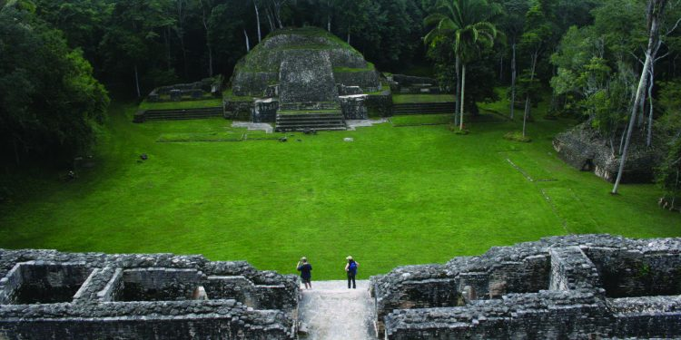 Contours Travel Caracol Ruins in Belize