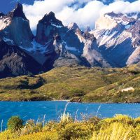 Chile Torres del Paine horns