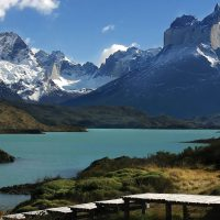 Chile CTS Torres del Paine lake