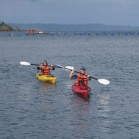Chile Patagonia Tierra Chiloe kayaking Contours Travel