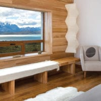 Chile Tierra Patagonia room with lake view Contours Travel
