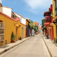 Street Cartagena de Indias Colombia Contours Travel