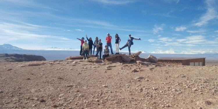 People enjoy their trip to Atacama Desert