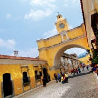 Santa Catalina arch Antigua Guatemala Contour Travel