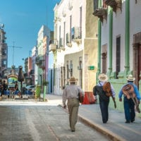Streets of Campeche Mexico Contours Travel