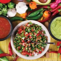 Mexican Food Contours Travel