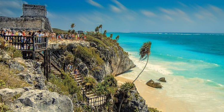 Contours Travel Tulum ruins by the sea