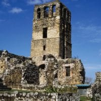 Church ruins in Old Panama