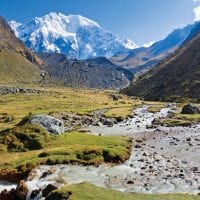 Peru Mountain Lodges Salkantay river Contours Travel