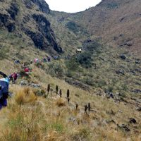 Group hiking the Classic Inca Trail Peru Contours Travel