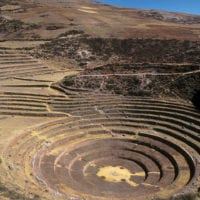 Moray rings, Sacred Valley in Peru