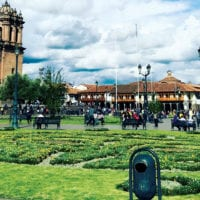 South America Dream Cuzco Main Plaza Peru Contours Travel