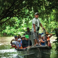 Contours Travel Delfin Amazon Cruise activities