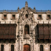 Archbishop's Palace in Lima