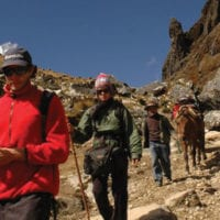 Peru Mountain Lodges trekking Salkantay Contours Travel