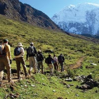Peru Mountain Lodges Salkantay trekking Contours Travel