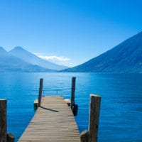 Pier on Lake Atitlan in Guatemala Contours Travel